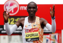 Photo of Kipchoge looses to kitata in London marathon