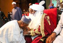 Photo of Saraki Felicitates Emir of Ilorin as He Marks 25th Year on Throne