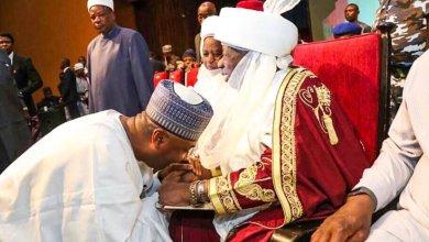 Photo of Saraki Felicitates Emir of Ilorin as He Marks 25th Year on Throne