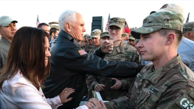 Photo of Thanksgiving: Pence salutes frontline workers in America