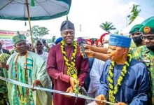 Photo of Makinde Commissions Transit Accommodation for Military Staff