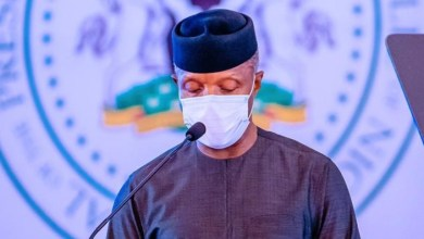 Photo of #EndSAR: We can't afford to alienate Nigerian youths, says Osinbajo