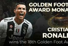 Photo of Ronaldo Wins 18th Golden Foot Award
