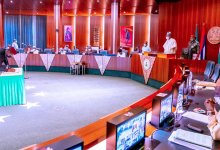 Photo of Buhari inaugurates 3 CCB members as FEC holds first meeting in 2021