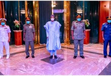 Photo of Buhari asks National Assembly to confirm new service chiefs