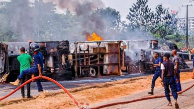 Photo of Explosion: Ogun bans use of overhead bridge for tankers