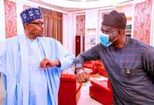 Photo of Makinde, Akeredolu Meet Buhari In Aso Villa
