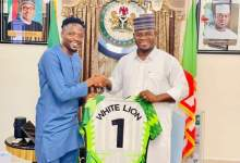 Photo of Super Eagles' Captain Honours Gov Bello of Kogi