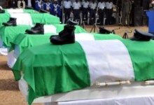 Photo of CRASHED AIR FORCE OFFICERS BURIED
