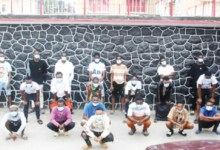 Photo of 25 suspects arrested by EFCC over internet fraud in Lagos