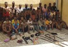 Photo of Lagos Police Arrests 56 Suspected Cultists, Armed Robbers