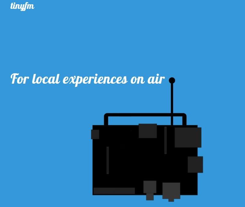 Tinyfm : le numérique au service d'une FM ultra-locale