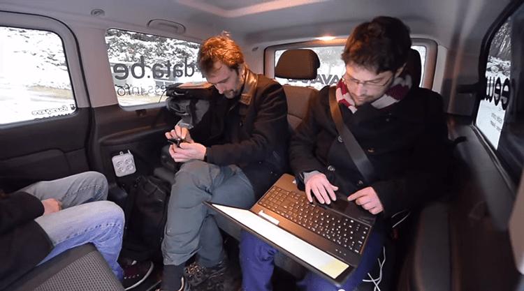 Les journalistes de Centre France dans le Lab Davanac