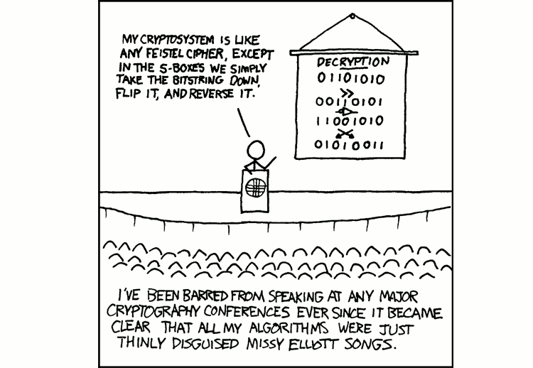 Cryptography par xkcd, sous licence Creative commons