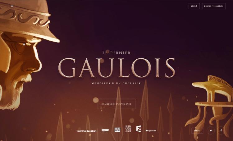 Le Dernier Gaulois, une BD immersive qui accompagne le docu-fiction de France Télévisions
