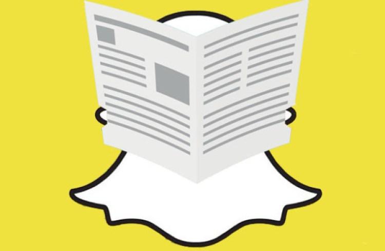 8 médias français publient désormais de l'info sur Snapchat Discover