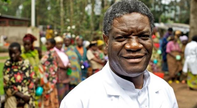 Image result for Djimon Hounsou and denis mukwege