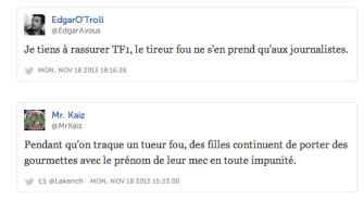 Tireur fou - Le réflexe LOL de Twitter 2 - Cyrille Frank