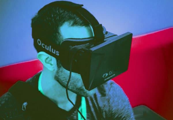 réalité virtuelle avec le casque Oculus