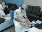 Diskominfo Laksanakan Donor Darah dengan Insan Pers