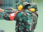Prajurit Kodim 0104/Atim, Asah Kemampuan Menembak