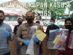 Polisi Ringkus Pelaku Perampokan Indomaret