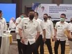 Walikota Medan Bobby Afif Nasution usai menggelar rakor