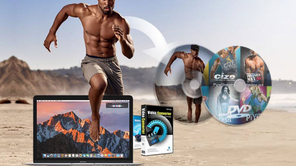 rip Beachbody DVD to macos Sierra