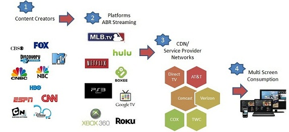 Over The Top Video Ecosystem