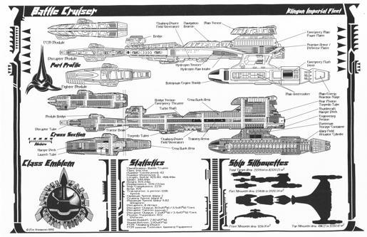 A Trek Life Klingon Battle Cruiser