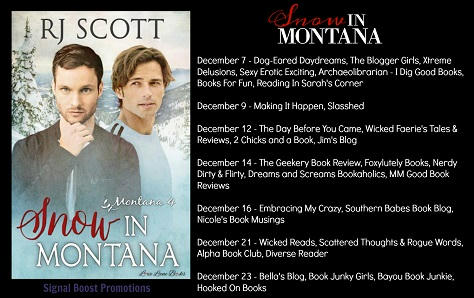 R.J. Scott - Snow In Montana BT T Banner