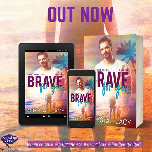 Crystal Lacy - Brave For You OUT NOW