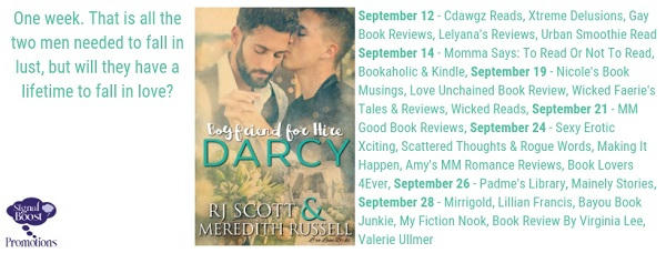 R.J. Scott & Meredith Russell - Darcy TourGraphic