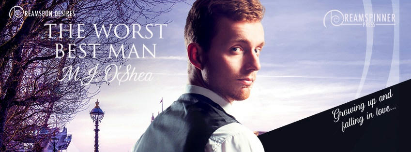 M.J. O'Shea - The Worst Best Man Banner
