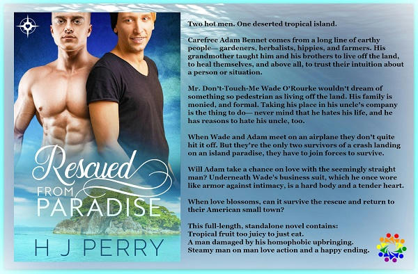 H.J. Perry - Rescued From Paradise RESCUED FROM PARADISE BLURB