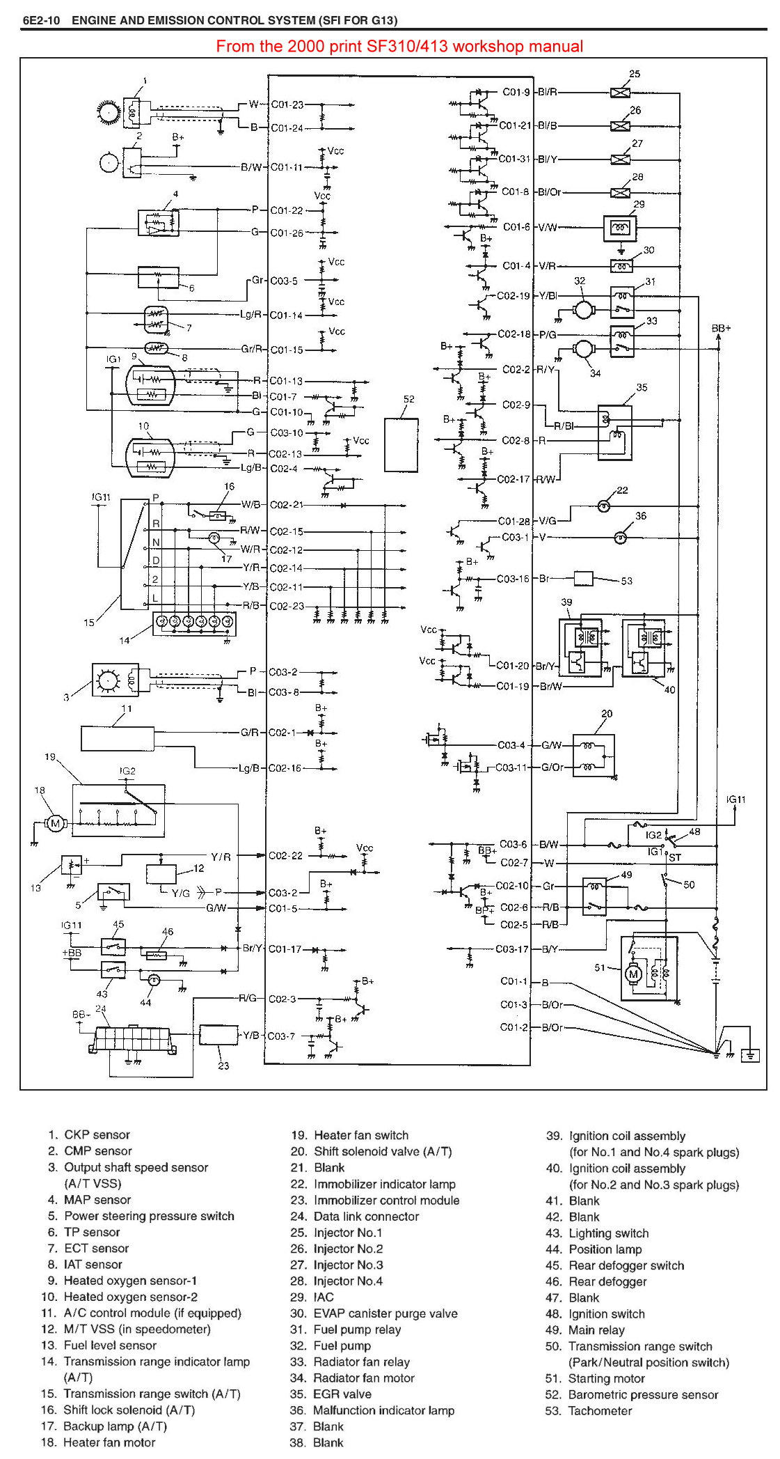 Injector Wiring Schematics Swift 1 3lt Engine