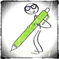 el bolígrafo verde