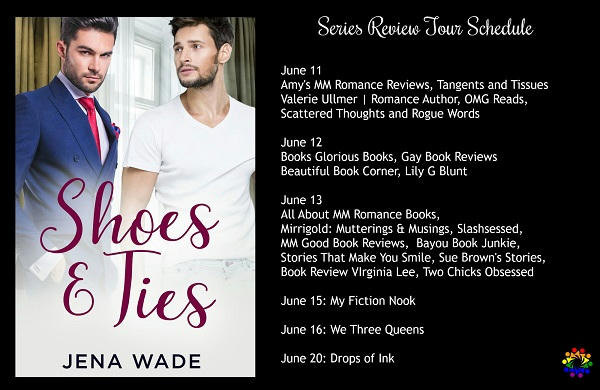 JENA WADE - Shoes and Ties schedule