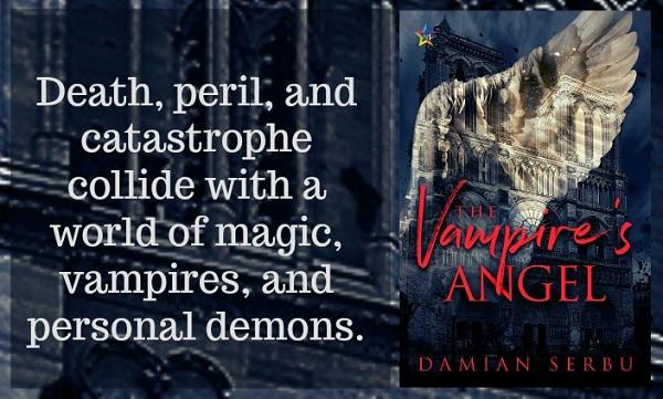 Damian Serbu - The Vampire's Angel Graphic