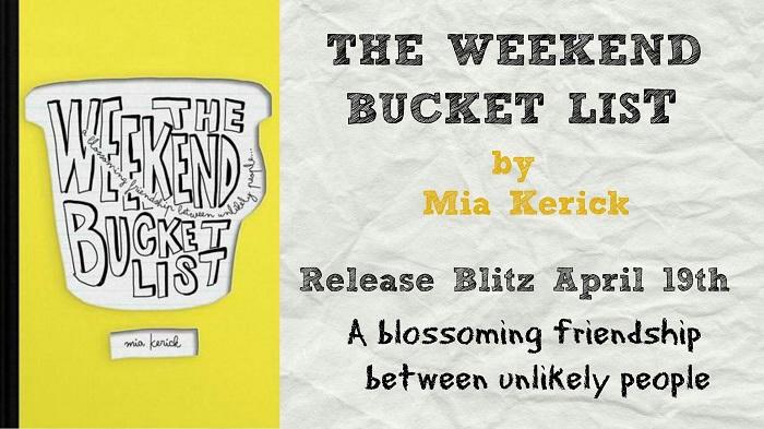 Mia Kerick - The Weekend Bucket List WBL Release