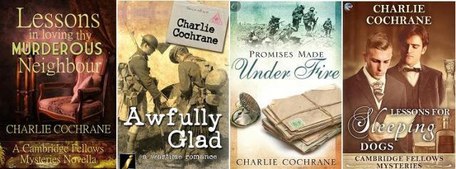 Charlie Cochrane book banner