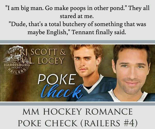 R.J. Scott & V.L. Locey - Poke Check Teaser 3