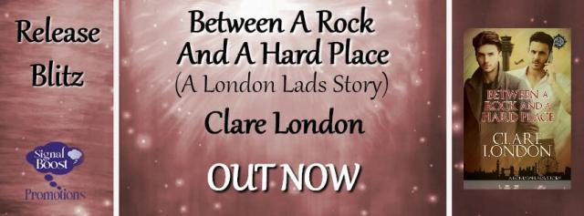 Clare London - Between A Rock & A Hard Place RBBanner