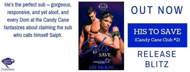 Ari McKay - His To Save RBBanner