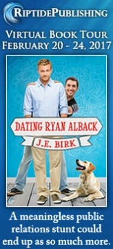 J.E. Birk - Dating Ryan Alback Badge