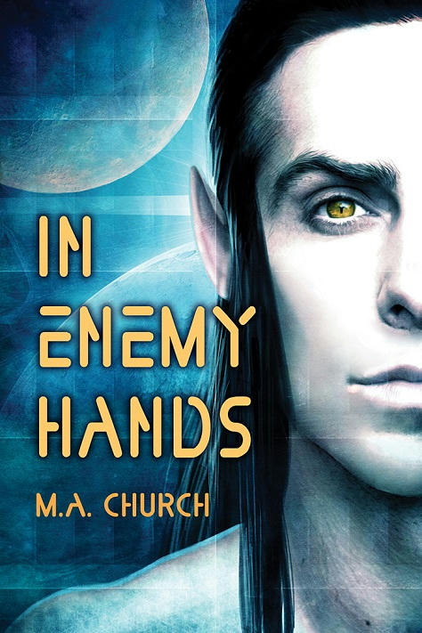 M.A. Church - In Enemy Hands Cover