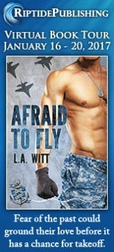 L.A. Witt - Afraid to Fly Badge