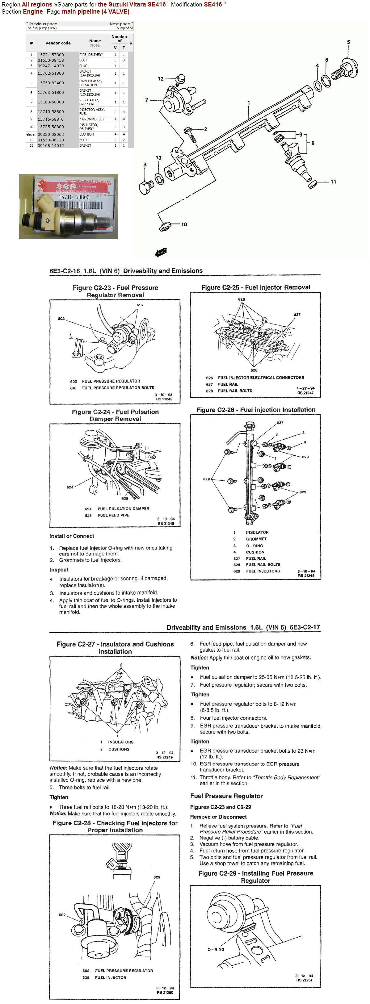 Replacing Fuel Injectors Question