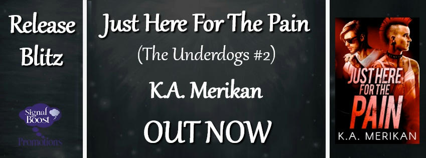 K.A. Merikan - Just Here For The Pain RBBanner