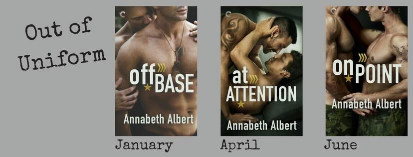 Annabeth Albert - Out of Uniform series banner